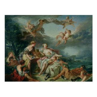 A violação do Europa, 1747 Cartão Postal