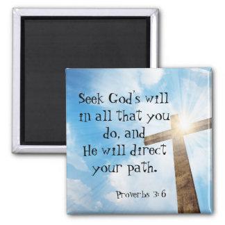 A vontade do deus inspirado dos provérbio das íman