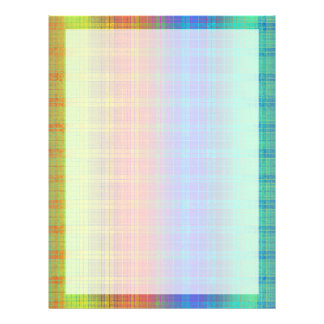A xadrez do arco-íris personaliza-o ou vai-a flyer 21.59 x 27.94cm