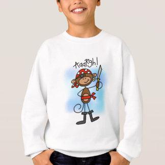 Aargh camiseta e presentes do pirata do macaco