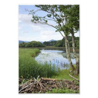Abaixe foto do lago, Killarney