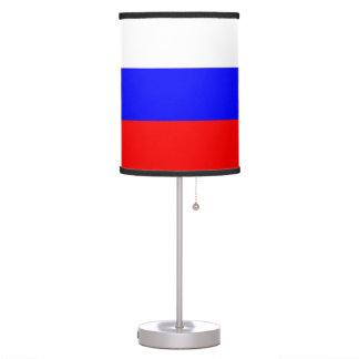 Abajur Candeeiro de mesa patriótico com a bandeira de