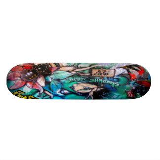 Abelha Gonzo - plataforma da arte Sk8 da rua Shape De Skate 18,4cm