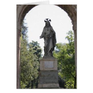 ABENÇOADO SEJA O PAI: Florença Italia Cartão Comemorativo