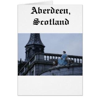 Aberdeen, Scotland Cartão Comemorativo