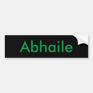 Abhaile (Home) Adesivo Para Carro