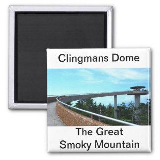 Abóbada de Clingmans: A montanha fumarento Ímã Quadrado