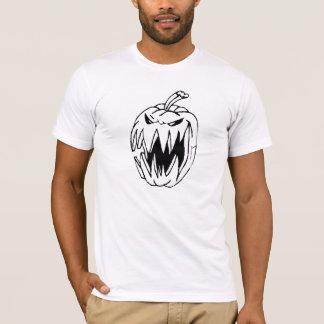 Abóbora assustador camiseta