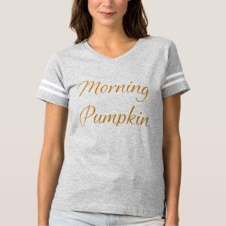 Abóbora da manhã camiseta