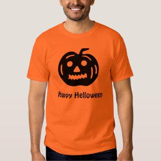 Abóbora feliz de Helloween Tshirts
