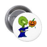 Abóbora que cinzela a alienígena boton