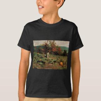 abóbora-remendo camiseta