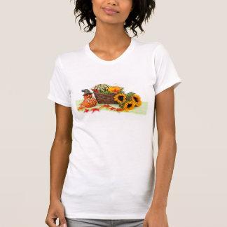Abóboras e girassóis t-shirts