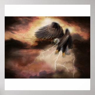 Abraçando minha tempestade poster