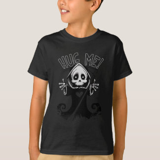 Abrace-me camisa do Dia das Bruxas do Ceifador do