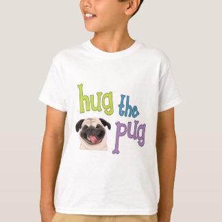 Abrace o t-shirt do Pug