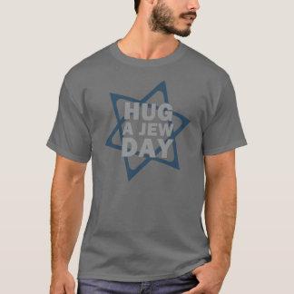 Abrace um dia do judeu t-shirt