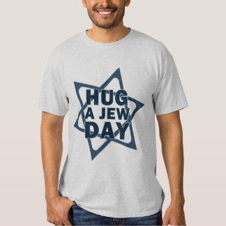 Abrace um dia do judeu tshirt