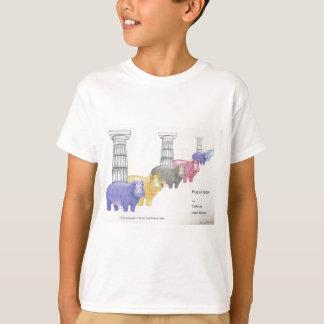 Abrace um hipopótamo! camiseta