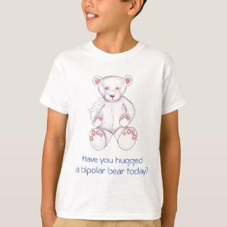Abrace uma camisa bipolar do urso