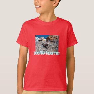 Abraço da iguana você camisa