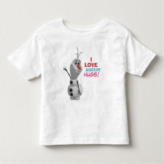 Abraços mornos do amor de Olaf | I Camiseta
