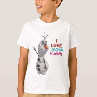 Abraços mornos do amor de Olaf | I Camisetas