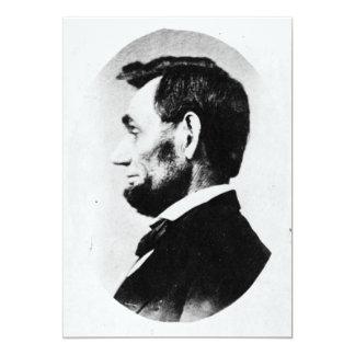 Abraham Lincoln Convite 12.7 X 17.78cm