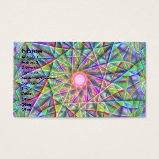 Abstrato 2 cartão de visitas