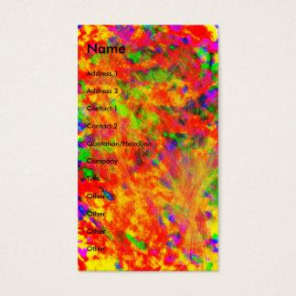 Abstrato | cartão de visitas