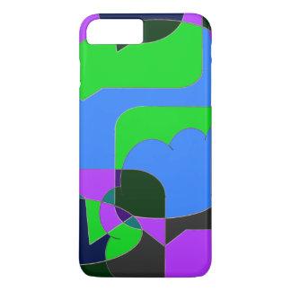 Abstrato cómico escuro capa iPhone 7 plus