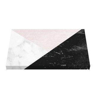 Abstrato cor-de-rosa de mármore preto, branco da