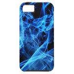Abstrato do azul capa de iPhone 5 Case-Mate
