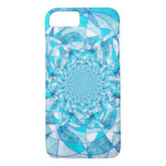 Abstrato do azul capa iPhone 7
