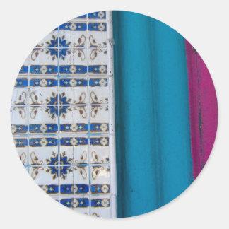 Abstrato do azulejo adesivo