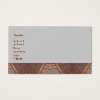 abstrato do azulejo cartão de visitas