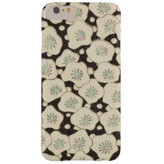 Abstrato do japonês do vintage floral capas iPhone 6 plus barely there