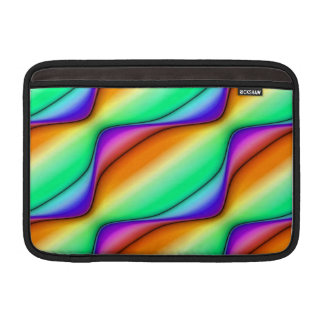 Abstrato do Pastel Bolsas Para MacBook Air