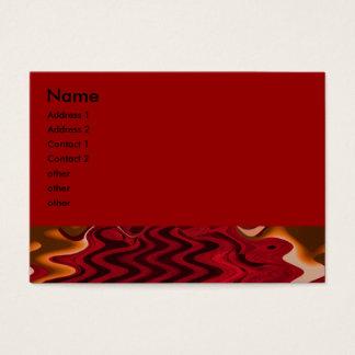 abstrato do vermelho cartão de visitas