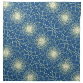 Abstrato floral abstrato floral guardanapo