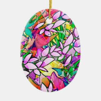 Abstrato floral da arte do Grunge do ornamento