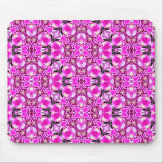 Abstrato floral mouse pad