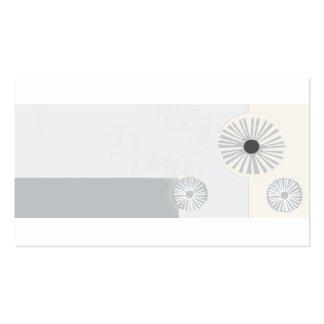 Abstrato moderno do PROFISSIONAL do art deco Cartão De Visita