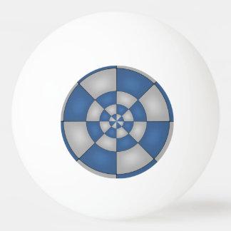 Abstrato náutico do azul bola para tênis de mesa