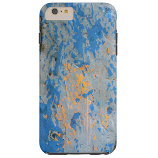 Abstrato no azul capas iPhone 6 plus tough