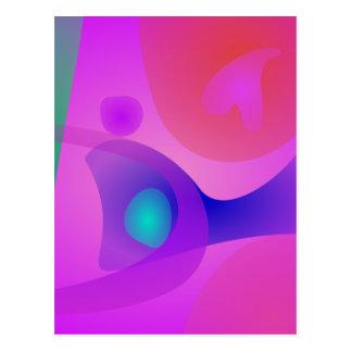 Abstrato puro cartão postal