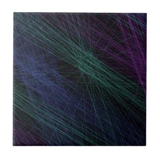 Abstrato roxo da mostra do laser do verde azul azulejo de cerâmica