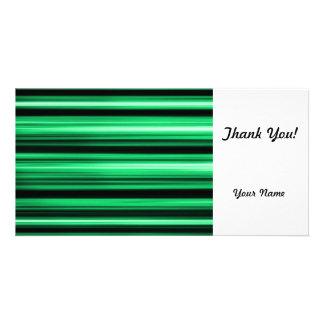Abstrato verde cartões com fotos