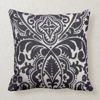 abtrato do padrão um branco do preto e travesseiros