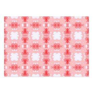 abtrato rosa de imagem de padrão cartão de visita grande